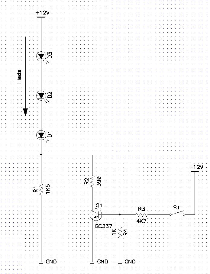 Una forma fácil de cambiar el brillo en los leds